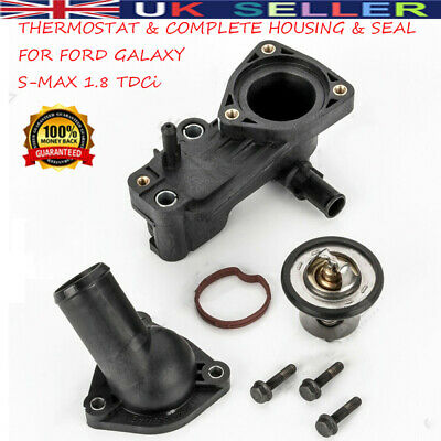 £14.89 • Buy THERMOSTAT HOUSING COMPLETE FORD FOCUS TRANSIT CONNECT GALAXY MONDEO 1.8 TDCi