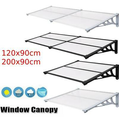 £56.99 • Buy Door Canopy Awning Shelter Front Back Outdoor Porch Patio Window Roof Rain Cover