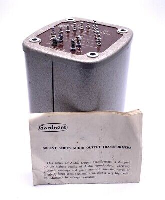 £300 • Buy Gardners Solent Series AS7015 15W Audio Valve Potted Output Transformer