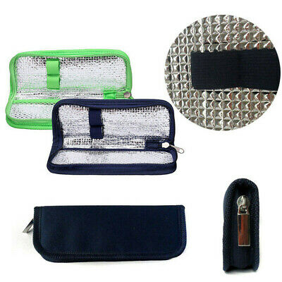 £5.45 • Buy Insulin Cool Bag Protector Pill Refrigerated Ice Pack Cooler Insulation Case