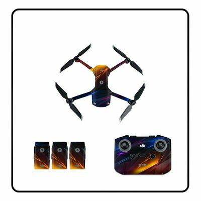 AU22.36 • Buy Durable Drone Remote Battery Stickers Protector Skin Decals For DJI Mavic Air 2S
