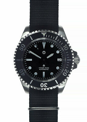 $ CDN394.27 • Buy MWC 24 Jewel Automatic Military Divers Watch With Date And Sapphire Crystal