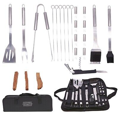 £16.99 • Buy BBQ Tool Set 23PCS Stainless Steel Barbecue Grilling Utensil Cooking Outdoor Kit