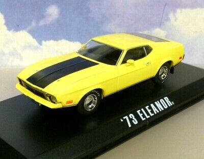 £29.65 • Buy Greenlight 1/43 Yellow 1973 Ford Mustang  Eleanor  Gone In 60 Seconds 1974 Movie