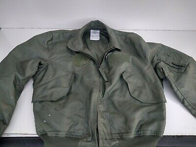 $ CDN84.68 • Buy CWU-36/P Summer Weight Flight Jacket, L (42 - 44), Used Has Wear See Pictures