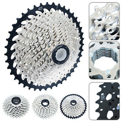 AU40.95 • Buy 8/9/10/11 Speed Road Bike Cassette Sprocket 11-50T Freewheel For Shimano Bicycle