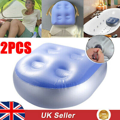 £12.85 • Buy 2Pcs Booster Seat Hot Tub Spa Spas Cushion Soft Inflatable Ideal For Adult + Kid