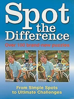 £2.19 • Buy Spot The Difference: 100 Brand-New Puzzles, , Used; Good Book