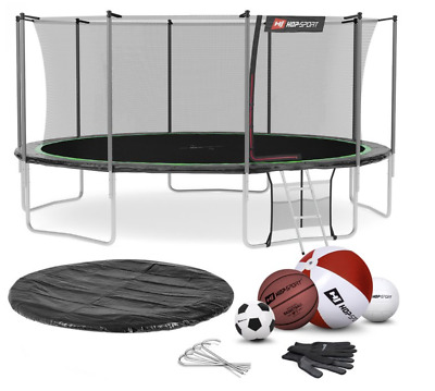 £883 • Buy BG Round Garden Trampoline 16 FT For Jumping & Playing In A Set + Gift