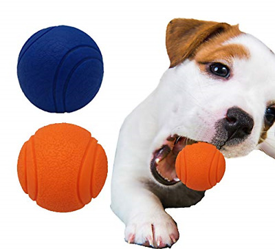 £8.94 • Buy Pet Touch Solid Core Rubber Ball HIGH BOUNCING Dog Toys Indestructible Virtually
