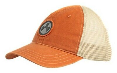 $23.21 • Buy Magpul Industries MAG1105-813 Icon Patch Washed Burnt Ornge/Khaki Trucker Hat OS