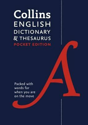 £3.58 • Buy Collins English Dictionary & Thesaurus By Collins Dictionaries (Paperback)