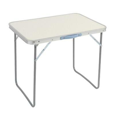 £18.99 • Buy 70cm Folding Camping Table Small Lightweight Portable Outdoor Picnic Caravan BBQ