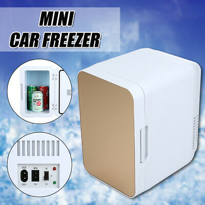 AU74.99 • Buy 8L 12V Portable Mini Car Freezer Cooler Warmer Electric Fridge Travel Box Home