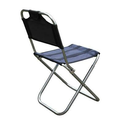 £16.21 • Buy Outdoor Folding Chair 7075 Aluminum Alloy Fishing Camping Chair BBQ Stool