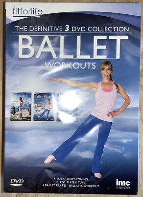 £7 • Buy The Definitive 3 DVD Collection Ballet Workouts New Bs9l