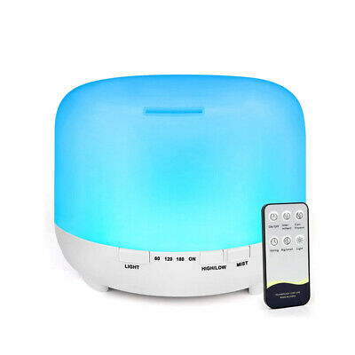 AU49.95 • Buy 500ML LED Essential Oil Aroma Diffuser With Remote Control