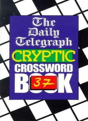 £72.01 • Buy Daily Telegraph Cryptic Crossword Book 37: No.37,Telegraph Group Limited
