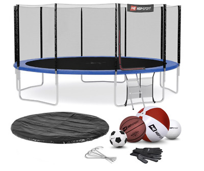 £883 • Buy BB Round Garden Trampoline 16 FT NE For Jumping & Playing In A Set + Gift