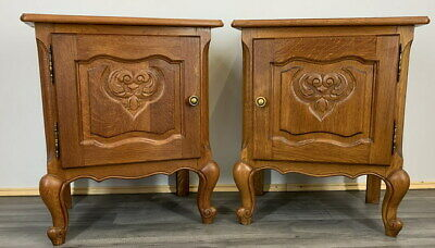 £229 • Buy Amazing Pair French  Bedside Tables Cupboards Cabinets Louis XVI