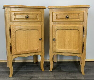 £249.99 • Buy Amazing Pair French  Bedside Tables Cupboards Cabinets Louis XVI