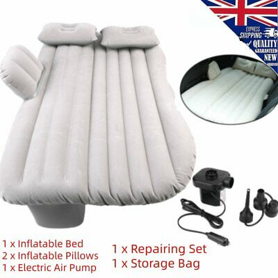 £19.43 • Buy Car Inflatable Bed Back Seat Mattress Airbed For Rest Sleep Travel Camping G