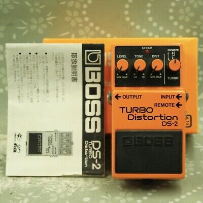 $ CDN82.76 • Buy BOSS DS-2 TURBO Distortion With Original Box Guitar Effect Pedal