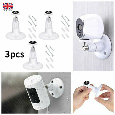 3X Wall Mount Bracket For Ring Stick Up Cam Wired/Battery HD Security Camera UK • 5.57£