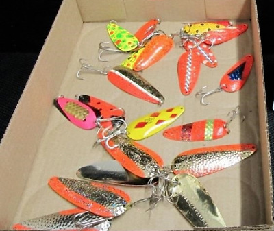 $ CDN37.09 • Buy Spoons Trout Fishing Lure Lot Of 20 Mixed Lure Lot
