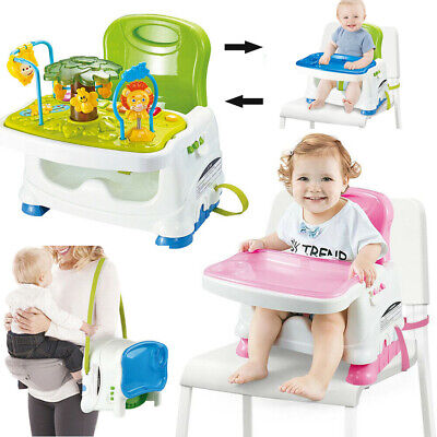 £24.65 • Buy Baby Toddler Portable Activity Play Table Travel High Chair Booster Seat W/Tray