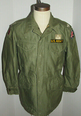 $289.99 • Buy Vintage 1953 Us Army M-1951/m-51 Korean War Field Jacket! Patches! Nice Shape! S