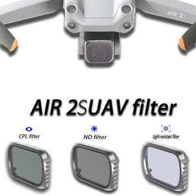 AU45.65 • Buy Lens Filter UV CPL ND4 ND16 ND32 Camera Filters Set For DJI Mavic Air 2S Drone