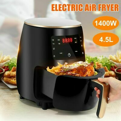 View Details 4.5L Air Fryer 1400W Power Oven Cooker Oil Free Healthy Frying Chips UK • 49.99£