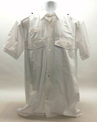 £7.99 • Buy Genuine Ex Police Male White Shirt Formal Parade Duty Patrol Security Collectors