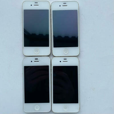$ CDN48.36 • Buy IPhone 4 A1332 White Apple Lot AS-IS