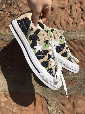 £29.99 • Buy Converse One Star Archive Prints Ox Duck Camo SIZE UK 4 EUR 36.5
