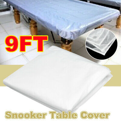 AU30.22 • Buy Waterproof 9FT White Pool Snooker Table Cover Oxford Cloth Durable