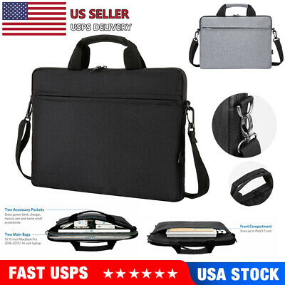 $15.99 • Buy For Macbook Air/Pro/Retina Dell 13 14 15 Inch Laptop Sleeve Carry Bag Pouch Case