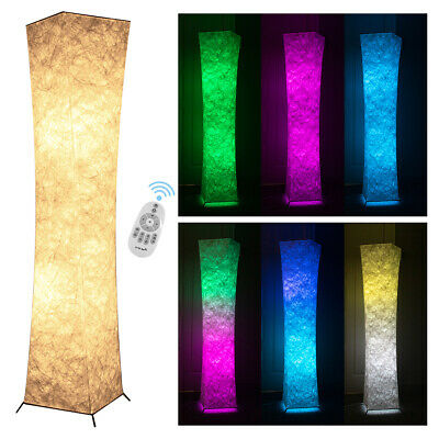 £38.49 • Buy RGB Colour Changing LED Corner Floor Lamp Standing Lighting Dimmable W/ Remote