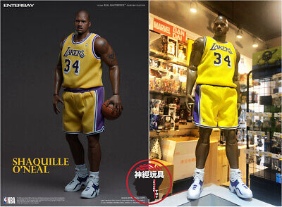 $430 • Buy Enterbay Shaquille O'neal 1/6 Action Figure Lakers Edition Rm-1085 Shaq Oneal