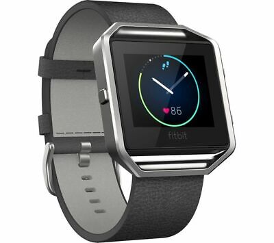 AU18.36 • Buy FITBIT Blaze Leather Accessory Band - Small, Black