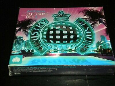 £5.99 • Buy Ministry Of Sound - Anthems Electronic 80s 3 - 3 CD's Album Boxset - 2012