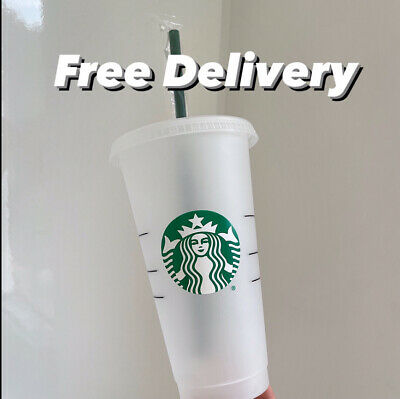 £8.99 • Buy *NEW* Starbucks Venti Reusable Iced Cold Coffee Cup - SAME DAY DISPATCH