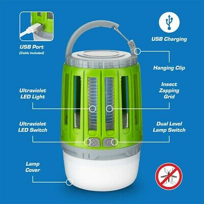£11.99 • Buy Electric Insect Killer Trap UV Light Tent Lamp Mosquito Fly Bug Zapper CatcherUK