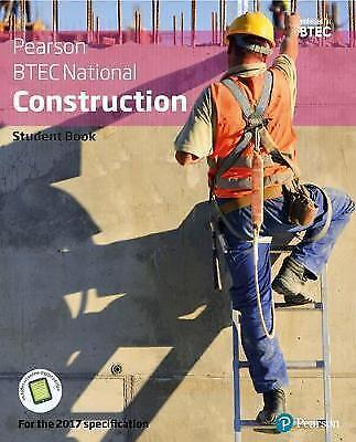 £46.17 • Buy BTEC Nationals Construction Student Book + Activebook: For The 2017 Specificatio