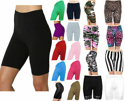 £5.99 • Buy Ladies Cycling Shorts For Casual Wear & Gym/Running Leggings Sizes 8/16