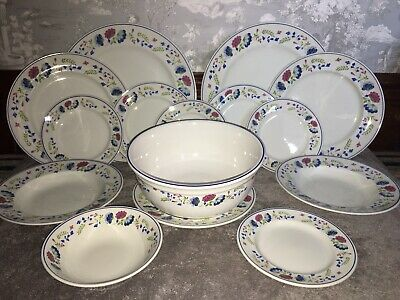 £2.99 • Buy Bhs Priory Dinner Set 7  Side Salad Plate Excellent Condition