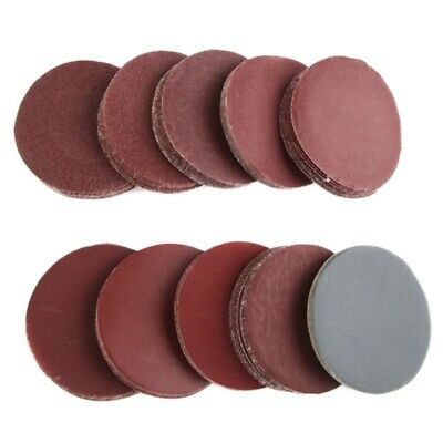 AU12.80 • Buy 100 Pcs 3 Inch Sanding Disc 80-3000 Grit Hook And Loop For Sander Machine S B9G7