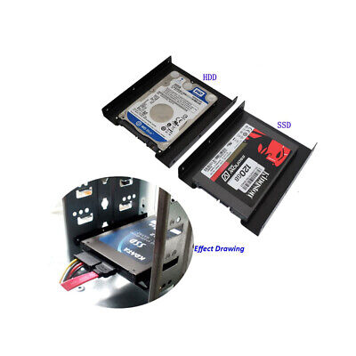 AU6.85 • Buy SSD Mounting Bracket 2.5 To 3.5 Adapter HDD Mounting Bracket Hard Drive Holder