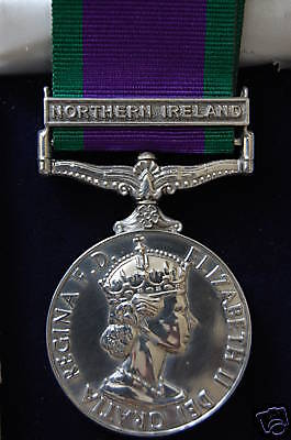 £30 • Buy Silver Campaign Service Medal  Northern Ireland